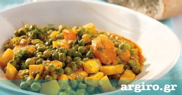 Αρακάς λαδερός κοκκινιστός από την Αργυρώ Μπαρμπαρίγου | Φτιάξτε τη συνταγή μου για ένα υγιεινό, εύκολο και οικονομικό σπιτικό φαγητό