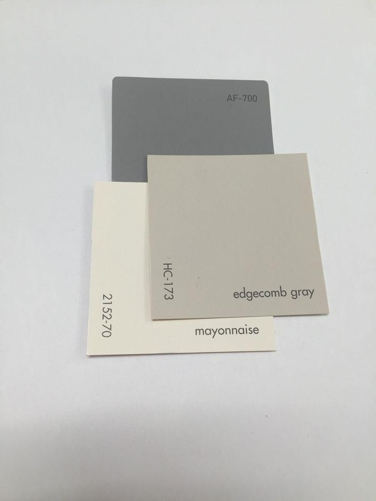 Edgecomb Gray Hc 173 Mayonnaise 2152 70 Cinder Af 705