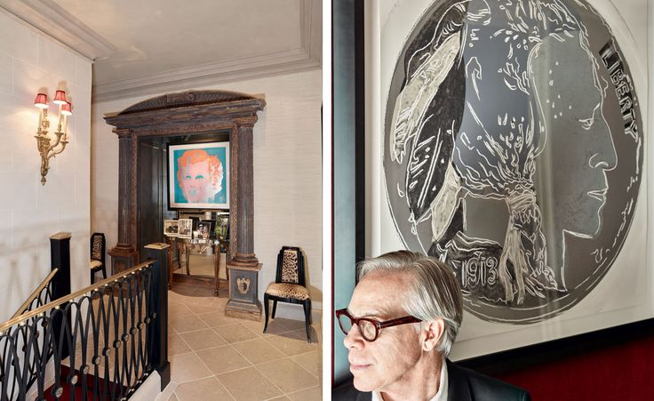 Tommy Hilfiger is sitting at his desk in his art-drenched penthouse duplex atop Manhattan's famed Plaza Hotel, where he has hung enough Warhols to fill a mini retrospective of the pop master. There's Liz and Liza Minnelli and Uncle Sam, Truman Capo...