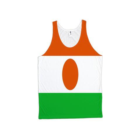 Niger Flag TankTop - Unisex