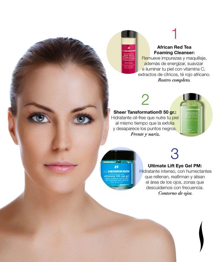 "Ya sea para apapacharte o para consentir a alguien, este trío de Ole Henriksen ¡transforma tu piel en una semana! http://www.sephora.com.mx/producto/magnificent-seven-98132http://www.sephora.com.mx/producto/african-red-tea-foaming-cleanser-mini-687795370015 http://www.sephora.com.mx/producto/sheer-transformation-1-7-oz-50-g-687795765019 http://www.sephora.com.mx/producto/invigorating-night-treatment-687795441012"""