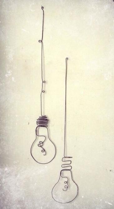 簡単DIY!針金で作るおしゃれなワイヤーインテリア雑貨! - Weboo