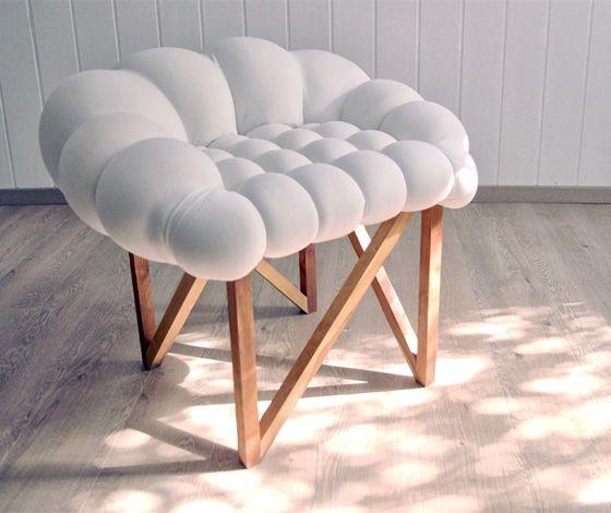 'Snöbär' chair by Nataša Vukosavljević and Nebojša Gornjak for Yonder Magnetik