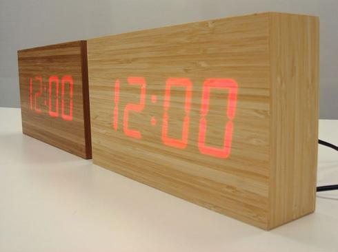 木のかたまりの時計。 TO:CA (トーカ) - まとめのインテリア / デザイン雑貨とインテリアのまとめ。