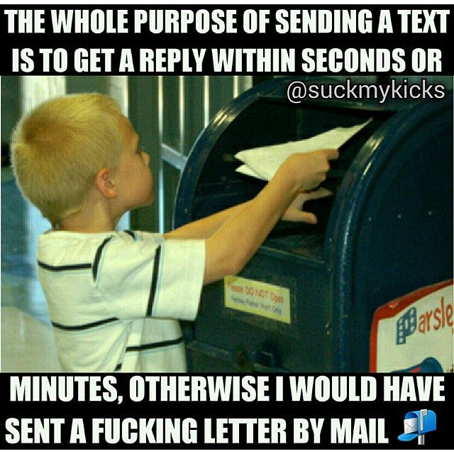 Lmmfao... I'm guilty of this though. Not that I don't love you... sometimes I mentally respond and don't actually text back