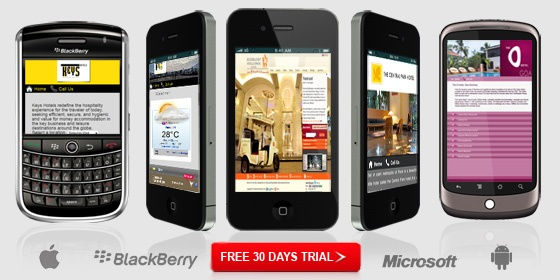 Mobile #Websites for #Hotel, #Restaurants, #Resorts.