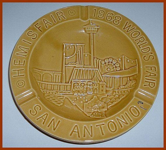1968 Hemisfair San Antonio World's Fair Pottery by AtticBasement, $10.00