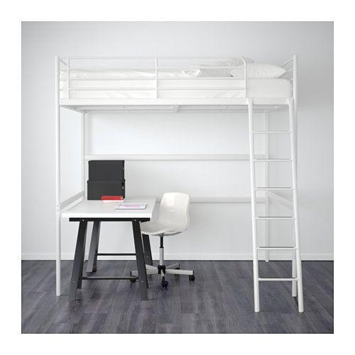 best 20 loft bed frame ideas on pinterest loft bed diy. Black Bedroom Furniture Sets. Home Design Ideas