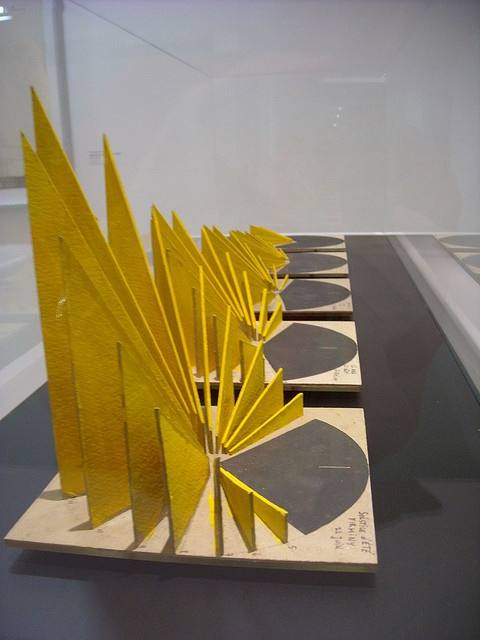 Le Corbusier sun path models. They're simple and elegant and I'm sure are very concise representations.