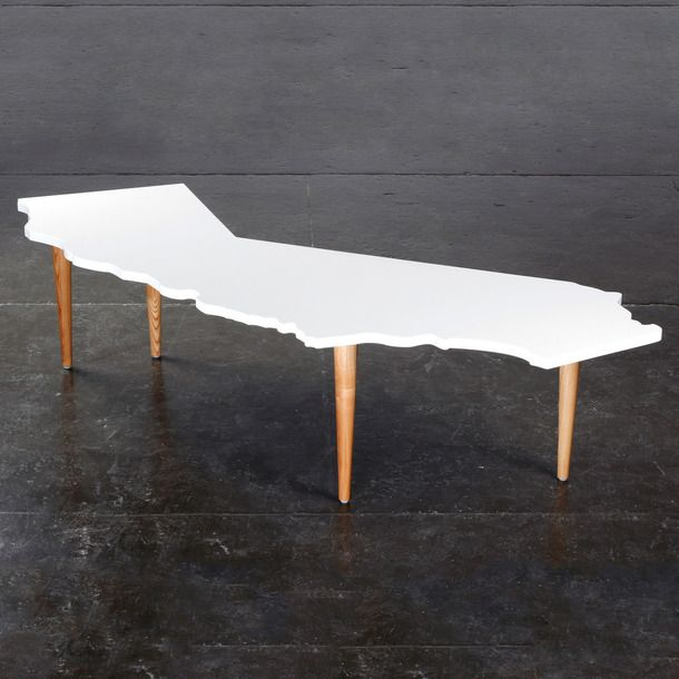 California Shaped Table By Gus*Modern #furniture #design #table