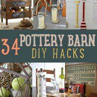 Obsessed with DIY hacks and home decor crafts? We all want the look from the Pottery Barn catalogs, but the price tag holds us back many times. With these DIY Pottery Barn projects and craft ideas you can get the same beautifully simple and rustic room decor for a fraction of the price!