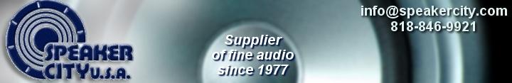 Speaker City sells speakers, drivers, audiophile loud: Service & Repairs