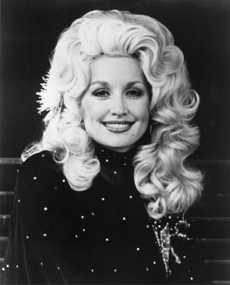 "Dolly Parton! I will forever sing ""Jolene"" in the shower! It's my jam!"