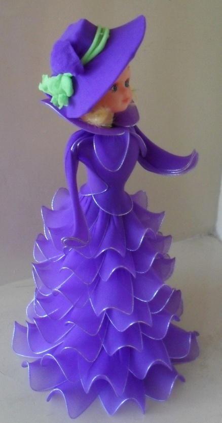 Nylon Flower Creations by Bliss Wonders  www.blisswonders.com