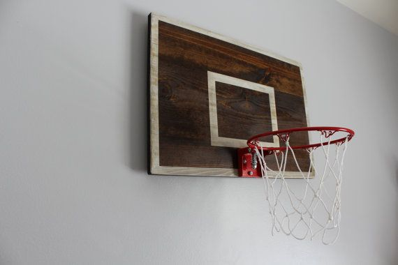 Vintage Designed Basketball Backboard with Rim by ThePaulinEffect