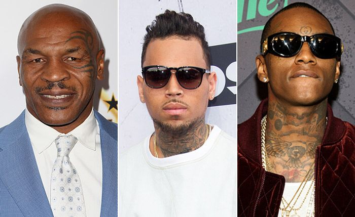 Mike Tyson Records Soulja Boy Diss Track With Chris Brown