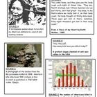 This worksheet asks the question why the majority of the USA's population in 1963 supported the Vietnam war but by 1968 most people had turned agai...