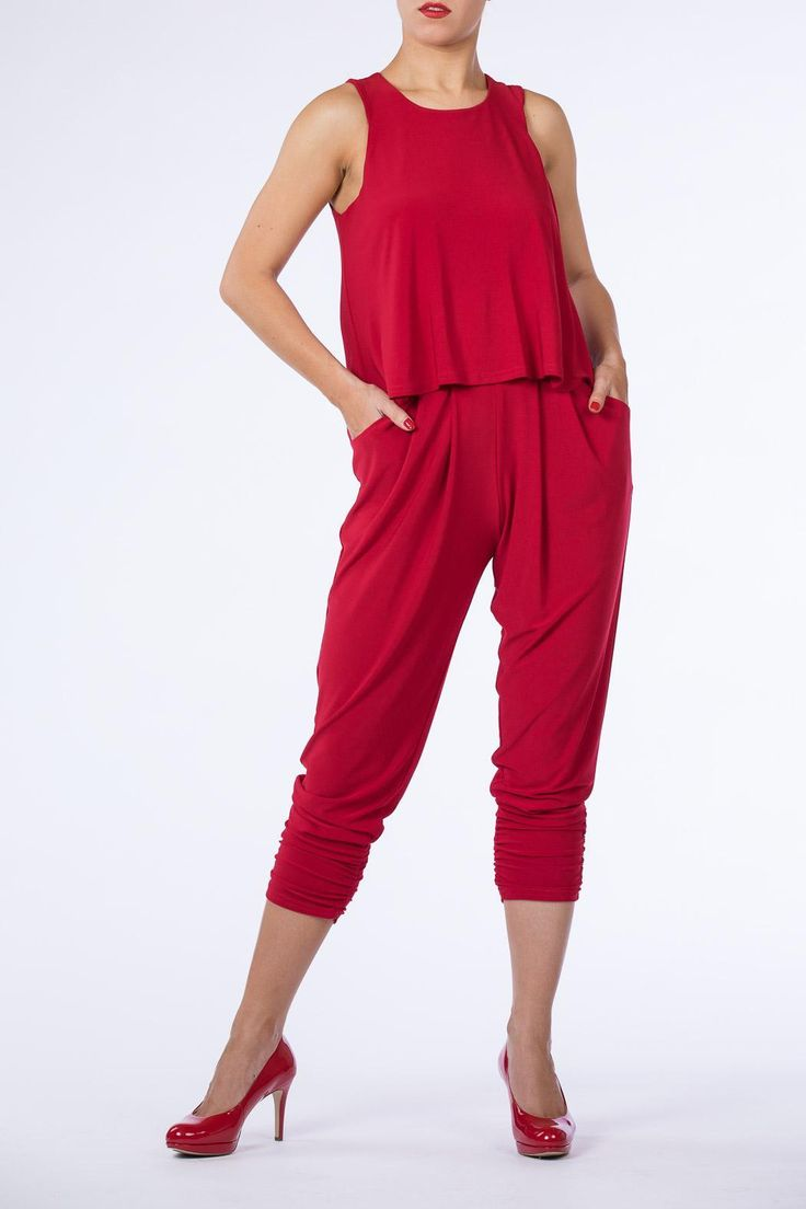 Turn heads wherever you wander in this sexy leggy jumpsuit.  Back zip closure. Sleeveless. Fully lined     Sexy Jumpsuit by Cartise. Clothing - Jumpsuits & Rompers - Jumpsuits Canada
