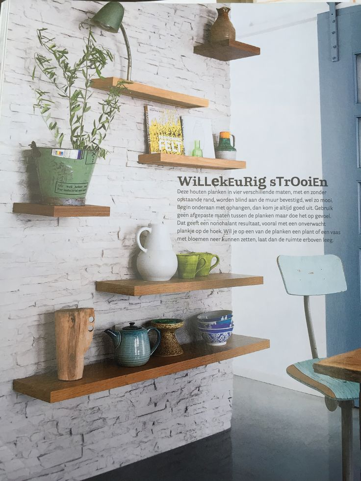 Houten kratjes aan de muur beste inspiratie voor huis ontwerp - Decoratie woonkamer aan de muur ...