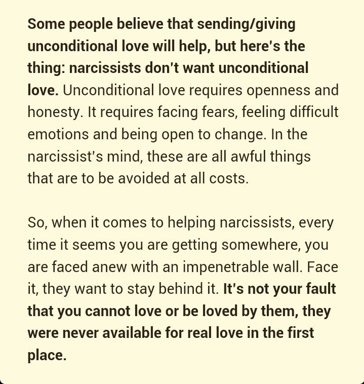 How to move on after hookup a narcissist