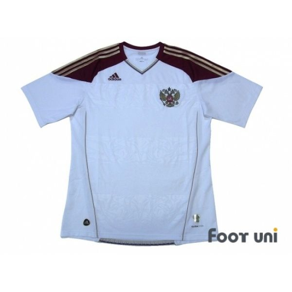 ... Online Store From Footuni Japan. Photo1: Russia 2010 Away Shirt #adidas  - Football Shirts,Soccer Jerseys,Vintage