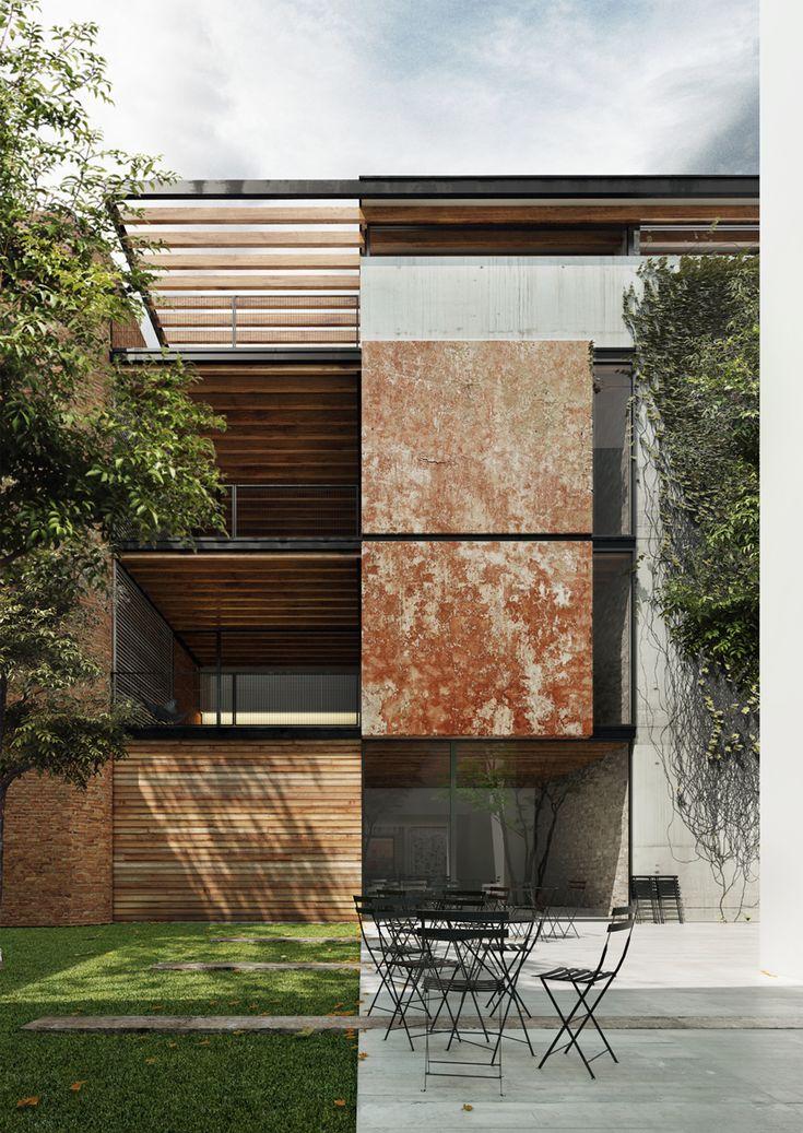 Antoni Bou – Asun Vidal > Viviendas Comte de Tarragona   HIC Arquitectura