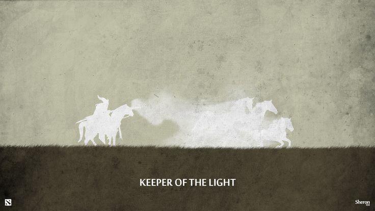 Dota 2 - Keeper of the Light Wallpaper by sheron1030.deviantart.com on @deviantART