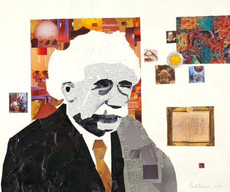 Paul Dessau – Custom Collage Portraits - Order and Paradox