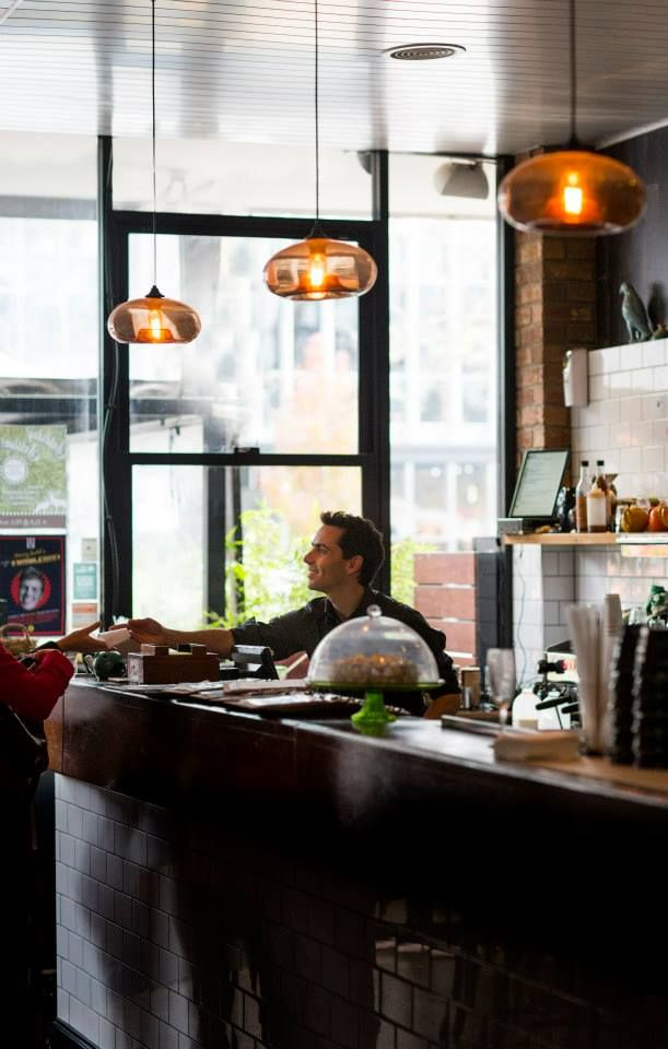 The Elk & Pea in Braddon prides itself on being known as a place to have a satisfying breakfast, grab a take-away coffee, and share dishes of Central American flare with friends. — at The Elk & Pea.