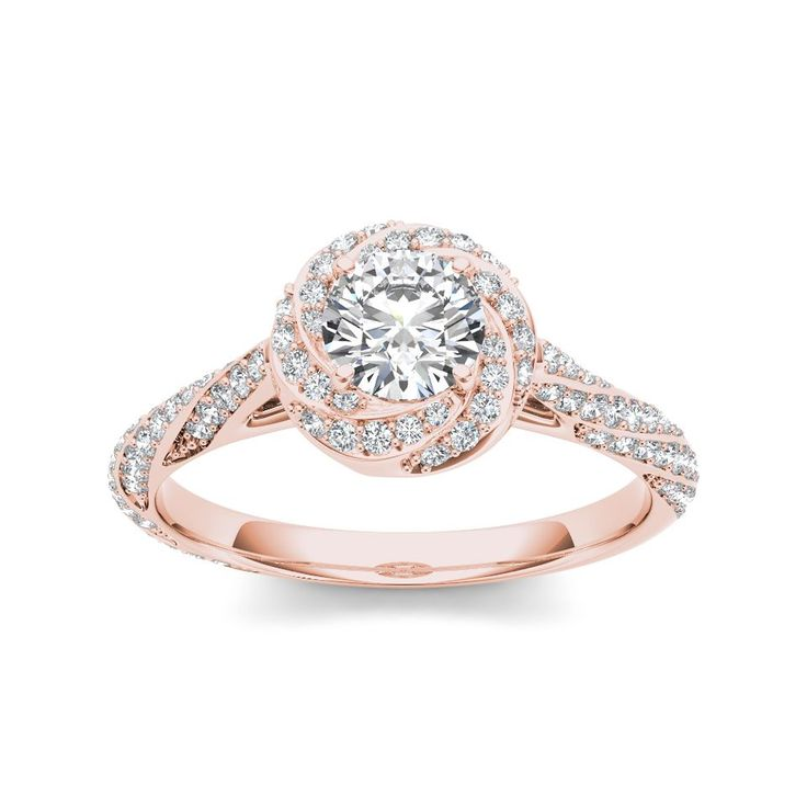 1000 ideas about swirl engagement rings on
