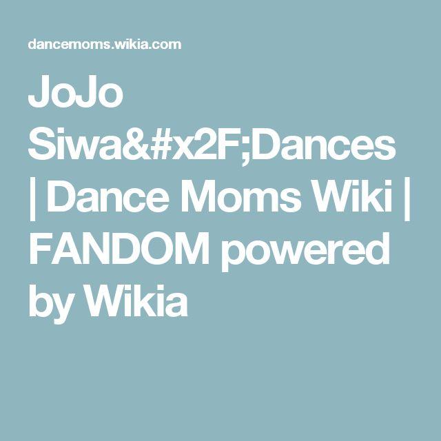 JoJo Siwa/Dances | Dance Moms Wiki | FANDOM powered by Wikia