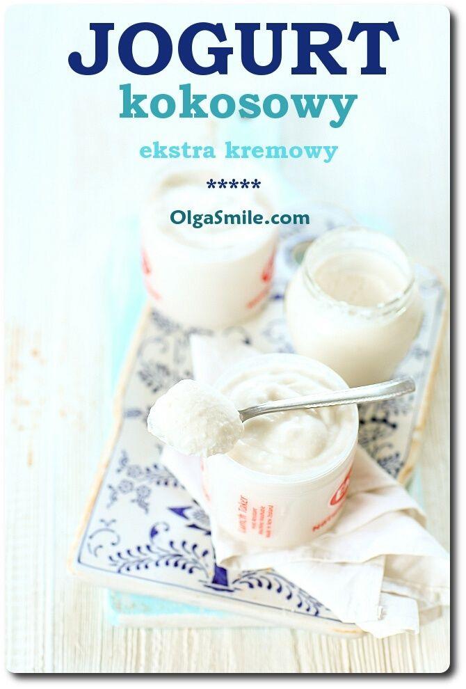 Jogurt kokosowy Dzisiaj zapraszam na jogurt kokosowy. Ponieważ, jogurt kokosowy jest smaczny i zdrowy dlatego też stanowi świetną alternatywę dla krowiego lub sojowego. Mój jogurt kokosowy jest tłusty, kremowy, kwaskowy o wspaniałej strukturze i aromacie. Dla