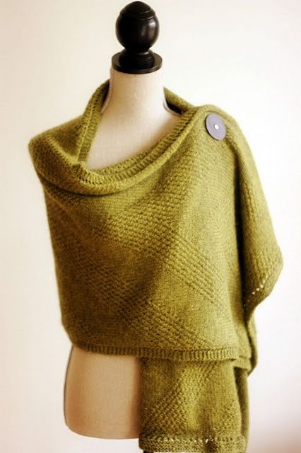 Legacy Wrap. Pattern on ravelry..