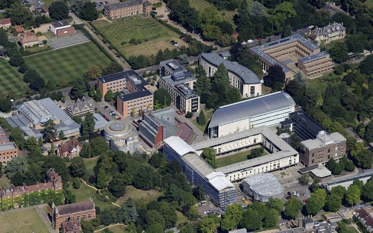Sidgwick Site and various faculties - University of Cambridge aerial image by John Fielding #cambridge #university #aerial #aerialview