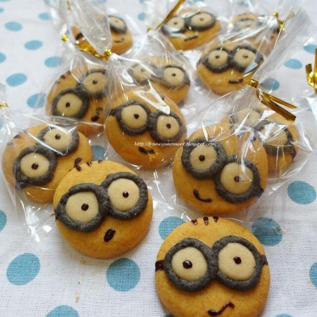 レシピとお料理がひらめくSnapDish - 58件のもぐもぐ - Minion cookies by Franny