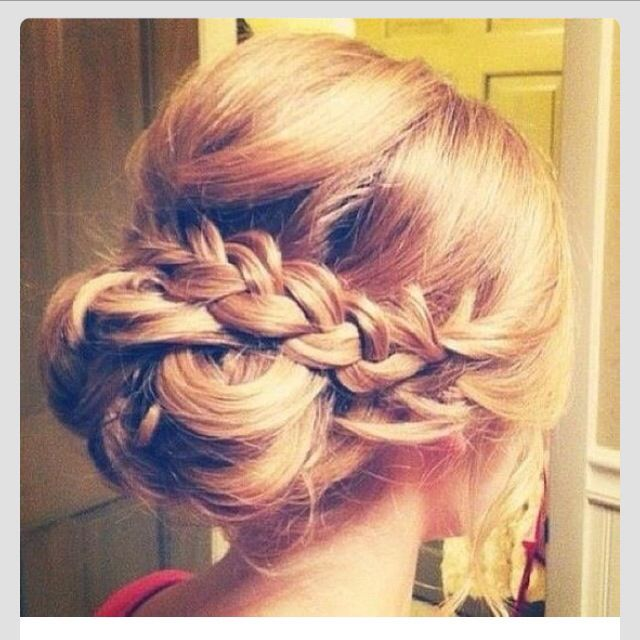 I want this type of hair-do for my engagement party! Simple and beautiful!
