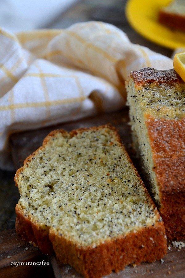 Limonlu Haşhaşlı Kek Tarifi adım adım resimli tarifi ile yapımı oldukça kolay ve pratik