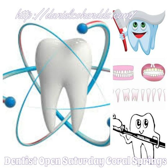 #Coral Springs Dentist open Saturday http://danielcohendds.com/