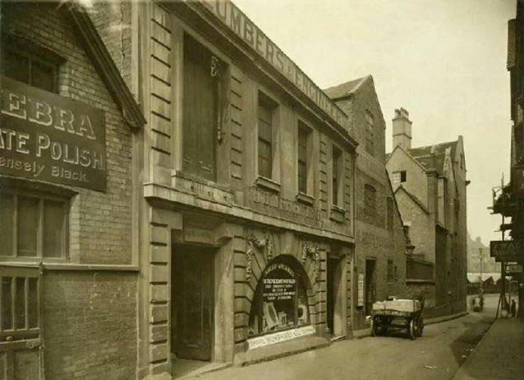 Friar Lane Nottingham 1922.