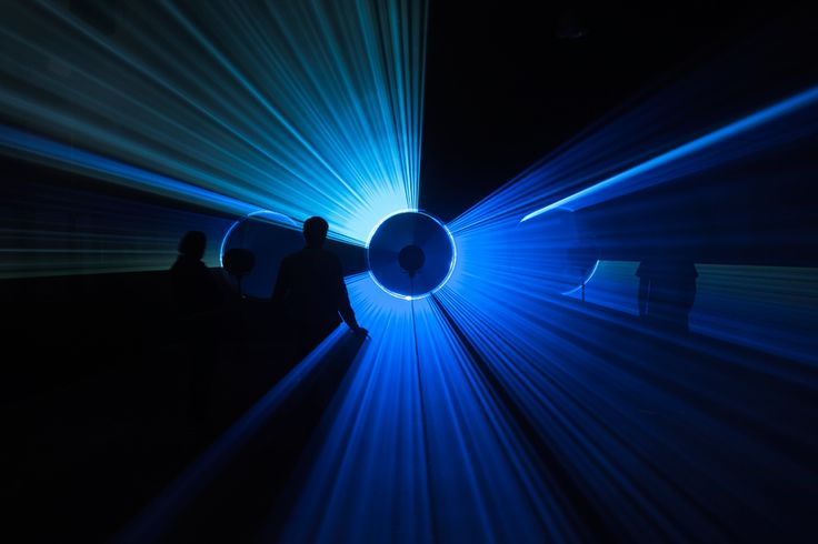 MINI and united visual artists present 'parallels' laser installation