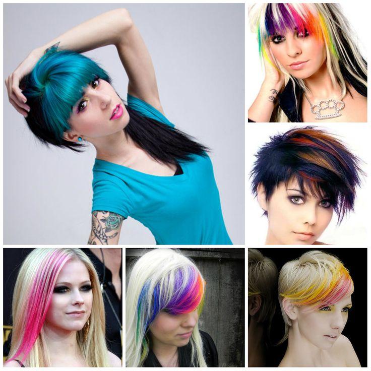 highlighted bangs 2016