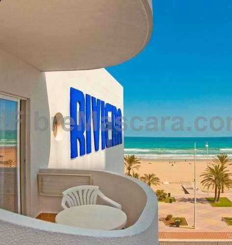Hotel RH Riviera - Adults Only Gandía Set on Gandía beachfront, Hotel RH Riviera features an outdoor pool with hot tub. Free WiFi is available throughout the hotel. There is an on-site restaurant and a café-bar with a terrace.