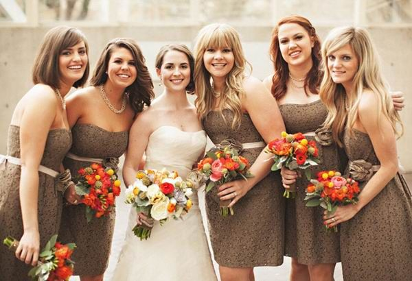 Top 6 Fall Wedding Color Combinations and Bridesmaid Dresses Trends |…