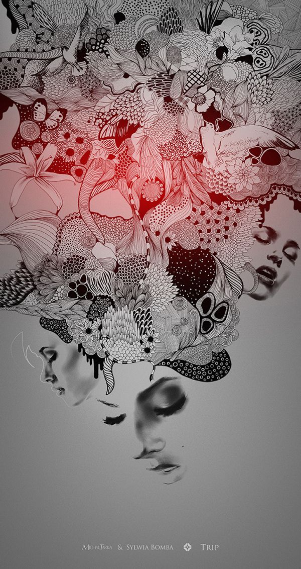 """""""Trip"""" by TARKA and Sylwia Bomba (from Goverdose artpack #04 / theme: """"Trip"""")"""