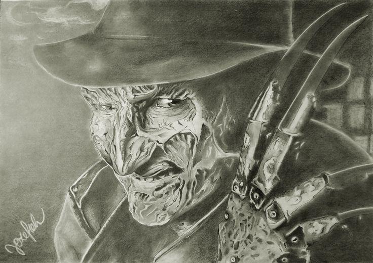 Freddy Krueger #drawing #realisticdrawings #freddykrueger #anightmareonelmstreet #pencilart #nataliajozefiakart