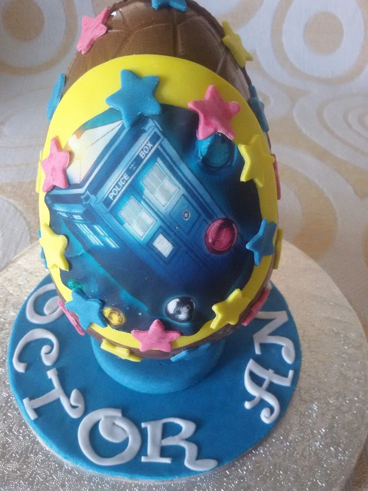 Chocolate Easter egg....Doctor Who!!!