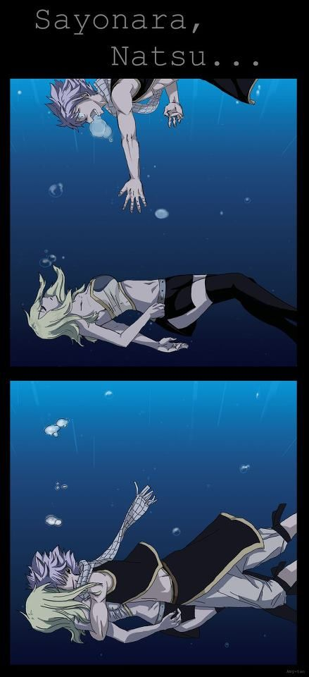 Natsu and Lucy  my. perfect. fanfic.