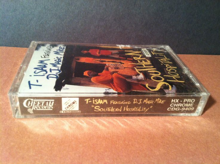T- ISAAM - southern hospitality - BRAND NEW SEALED CASSETTE dj magic hiphop