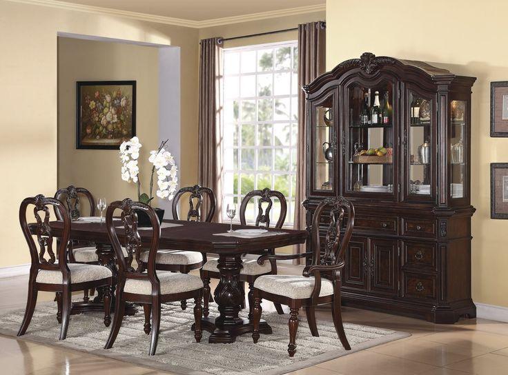 Samuel lawrence dining set samuel lawrence furniture for Fine dining room sets
