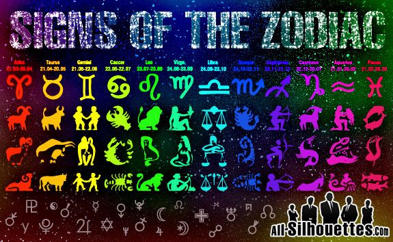 astrology free vector zodiac signs